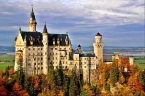 Castillo de Neuschwanstein. Baviera