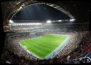 Estadio Santiago Bernabeu, del Real Madrid