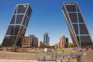 Torres Kio, Plaza Castilla, Madrid
