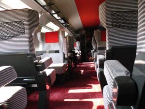 TGV Duplex, piso superior