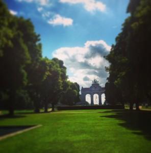 Arco del Triunfo en el Jubelpark