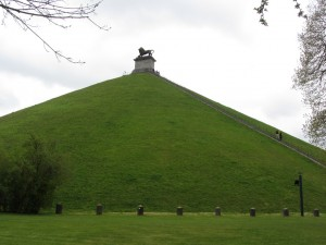 Colina del Leon en Waterloo