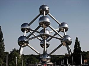 El Atonium en Bruselas