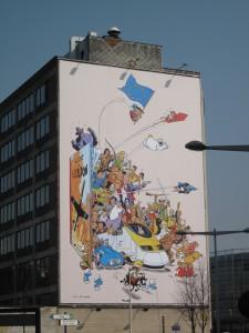 Mural en Bruxelles Midi