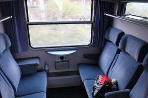 CNL, compartimento de asientos