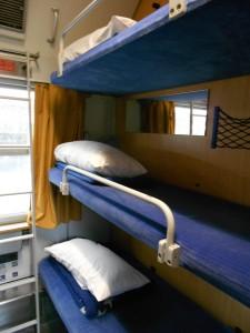 CNL, compartimento con cuchetas