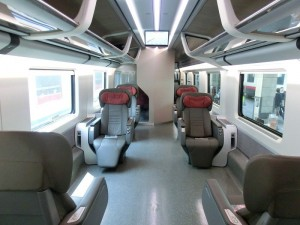 Executive en Frecciarossa