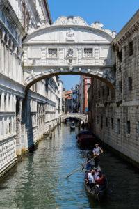 El puente de los Suspiros (Ponte dei Sospiri)