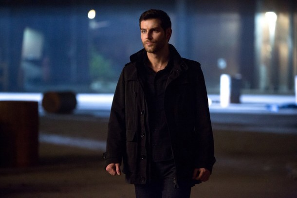 "GRIMM -- ""Cry Havoc"" Episode 422 -- Pictured: David Giuntoli as Nick Burkhardt -- (Photo by: Scott Green/NBC)"