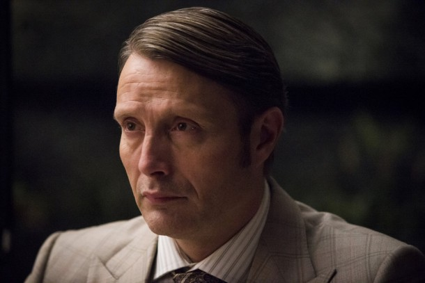"""HANNIBAL -- """"Aperitivo"""" Episode 304 -- Pictured: Mads Mikkelsen as Hannibal Lecter -- (Photo by: Brooke Palmer/NBC)"""