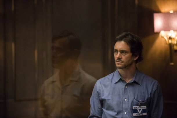 """HANNIBAL -- """"The Wrath of the Lamb"""" Episode 313 -- Pictured: Hugh Dancy as Will Graham -- (Photo by: Brooke Palmer/NBC)"""