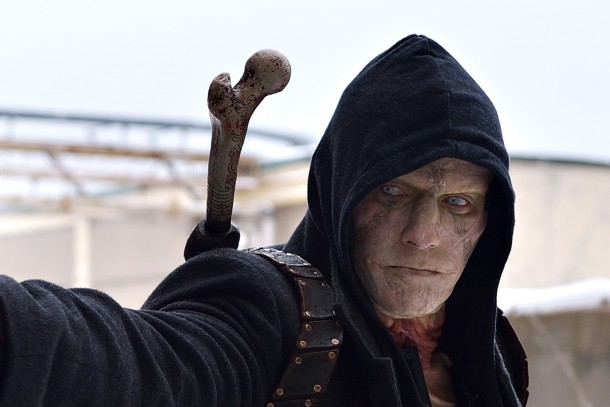 """THE STRAIN -- """"The Born"""" -- Episode 207 (Airs August 23, 10:00 pm e/p) Pictured: Rupert Penry-Jones as Quinlan.  CR: Michael Gibson/FX"""