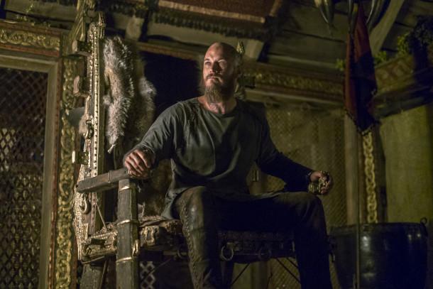 Ragnar (Travis Fimmel) has a mysterious visitor, cr_ Bernard Walsh