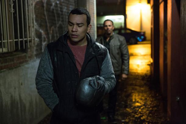 "GRIMM -- ""Silence of the Slams"" Episode 513 -- Pictured: Joseph Julian Soria as Goyo -- (Photo by: Scott Green/NBC)"