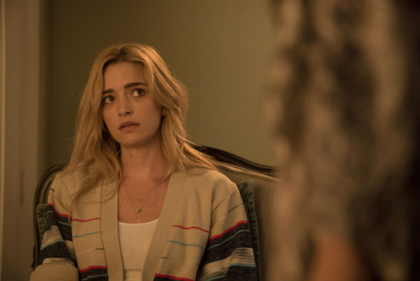 """THE EXORCIST:  Brianne Howey in the """"Chapter Nine: 162"""" episode of THE EXORCIST airing Friday, Dec. 9 (9:01-10:00 PM ET/PT) on FOX.  ©2016 Fox Broadcasting Co.  Cr:  Jean Whiteside/FOX"""