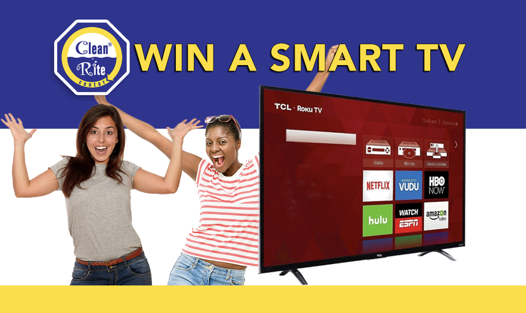 Smart TV Raffle - Clean Rite Center