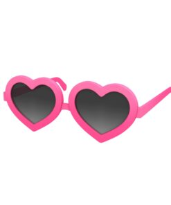 heart glasses cartoon 3d model