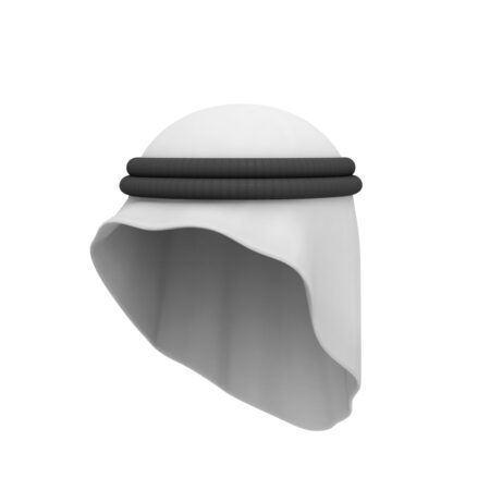 Arab Headdress 3d model