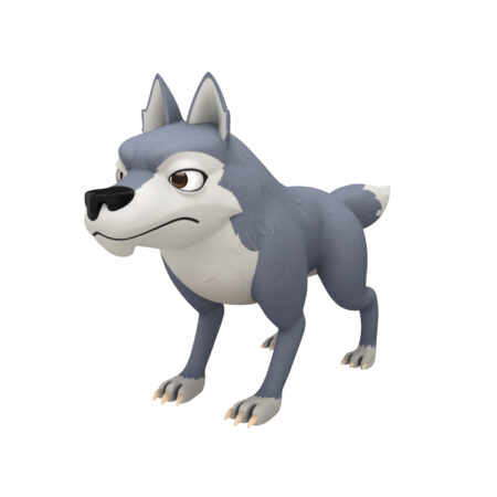 Wolf 3d model character