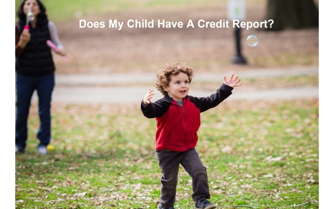 Credit Reports & Children