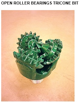 open-roller-bearings-tricone-drill-bit