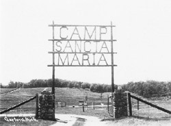 Old camp gate