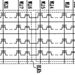 NAND Flash Array Circuit Diagram from US Patent 7,193,897