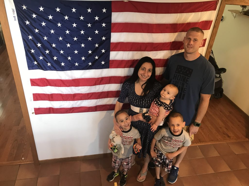 Adam's Family July 4th 2018