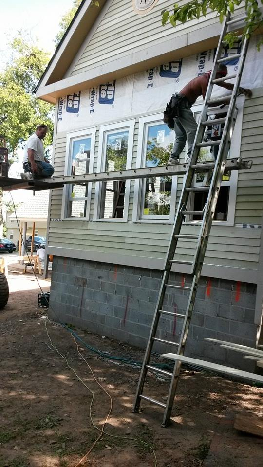Clay and Doyle Running Siding