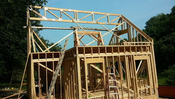 This truss basically supports the entire weight of the roof system.