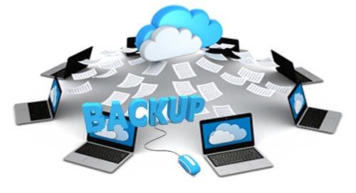 Cloud backup,