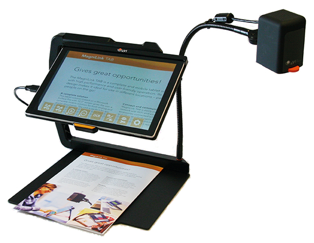Tablet Based Magnifiers
