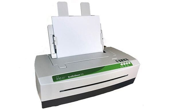 BrailleSheet 120 w/Power-Dot Braille (Irie-AT)
