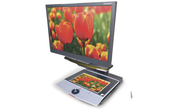 ClearView+ 22″ HD Standard Arm (Optelec)