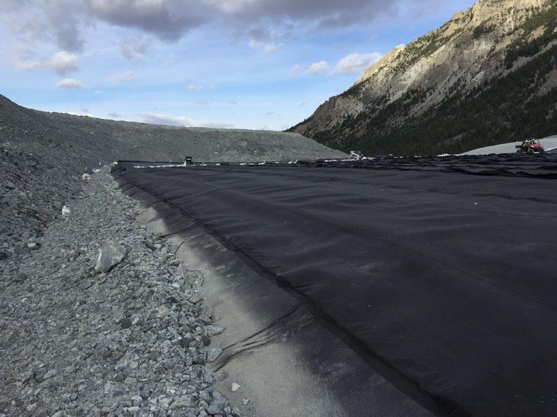 coal ash containment