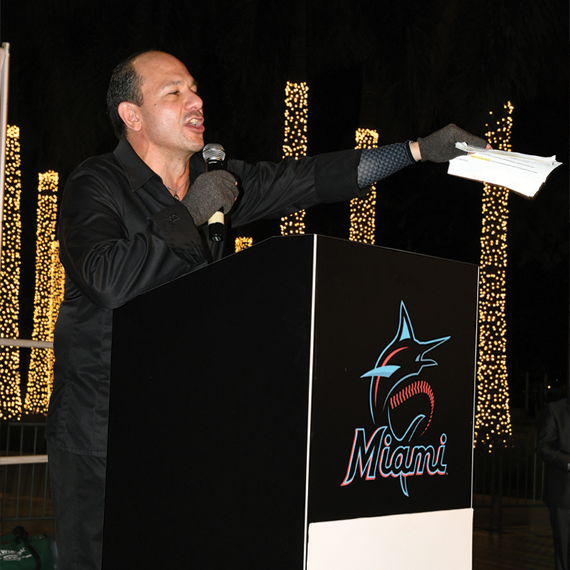 Ralph Pagano Marlins Award Ceremony