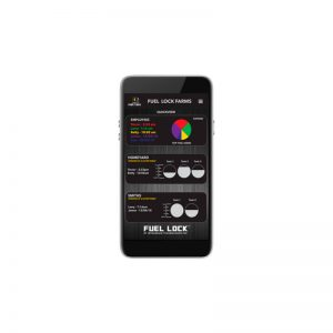 Fuel Lock Business Phone & App