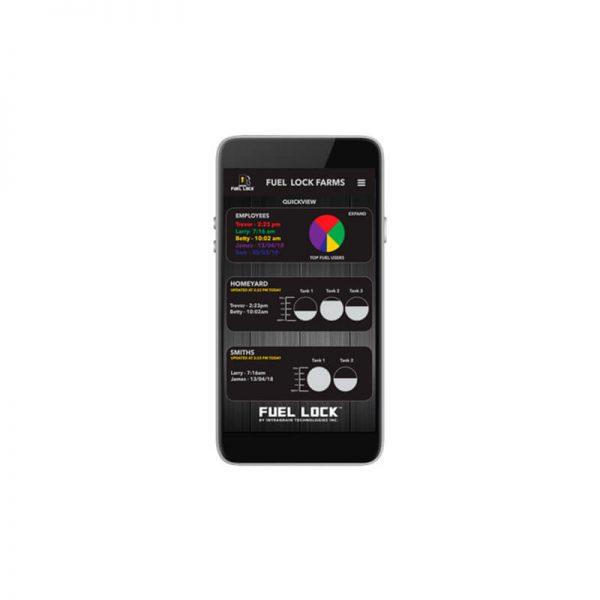 Fuel Lock Business Phone & App