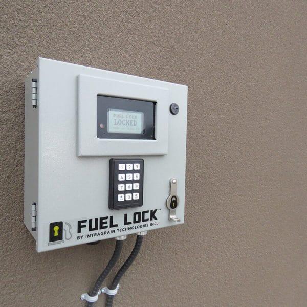 Fuel Lock Wall Mount Pinpad Keyless Entry
