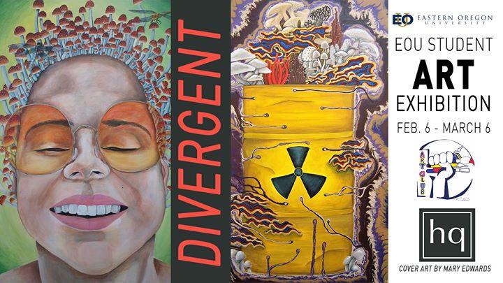 EOU Student Art Exhibition: Divergent