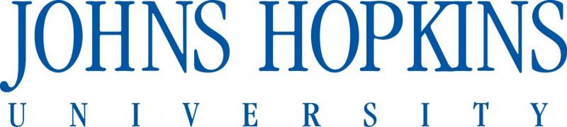 JHU logo blue