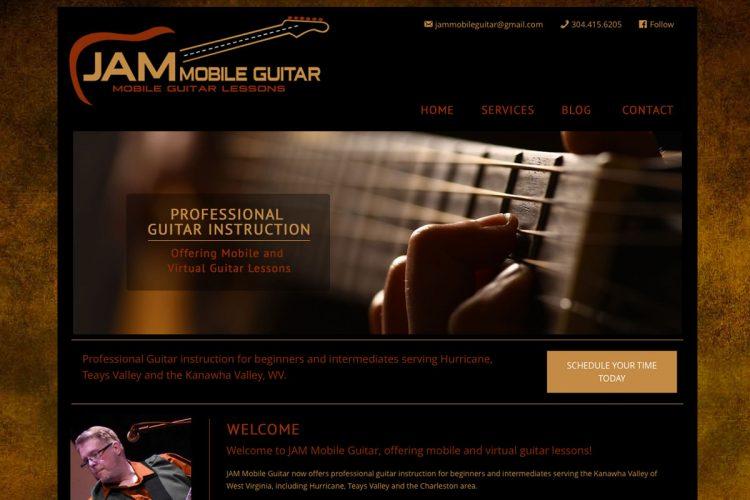 Jam Mobile Homepage