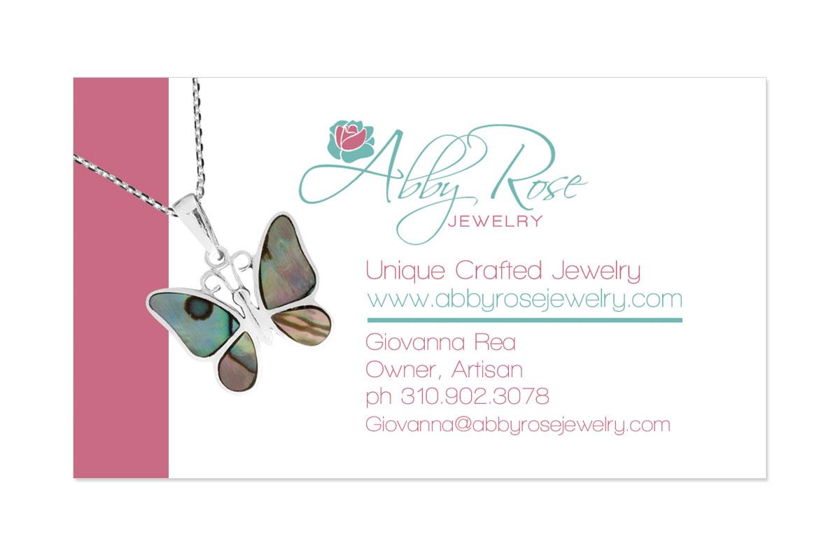 Abby Rose Business Card