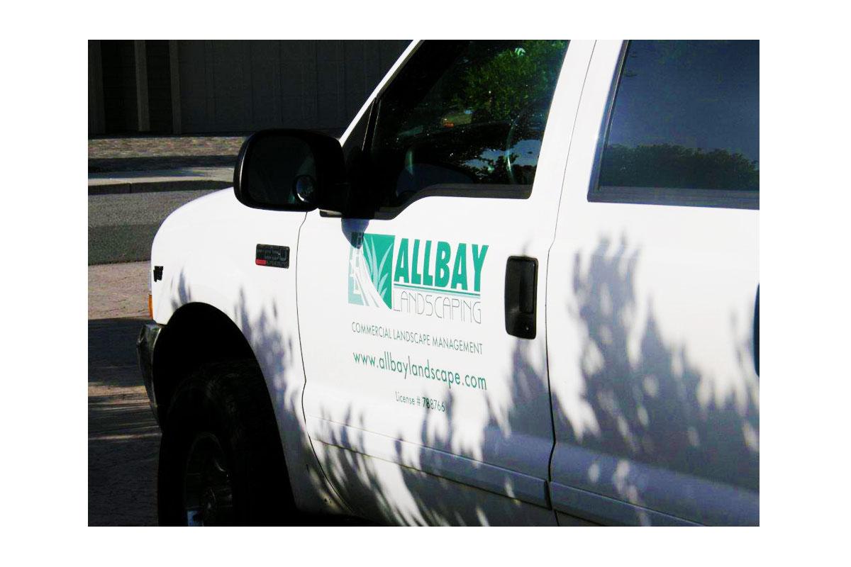 AllBay Landscape Vehicle Signage