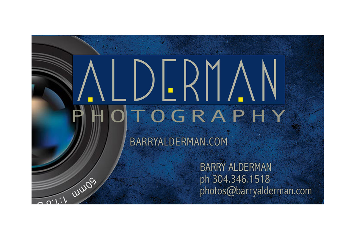 Barry Alderman Photography Business Card