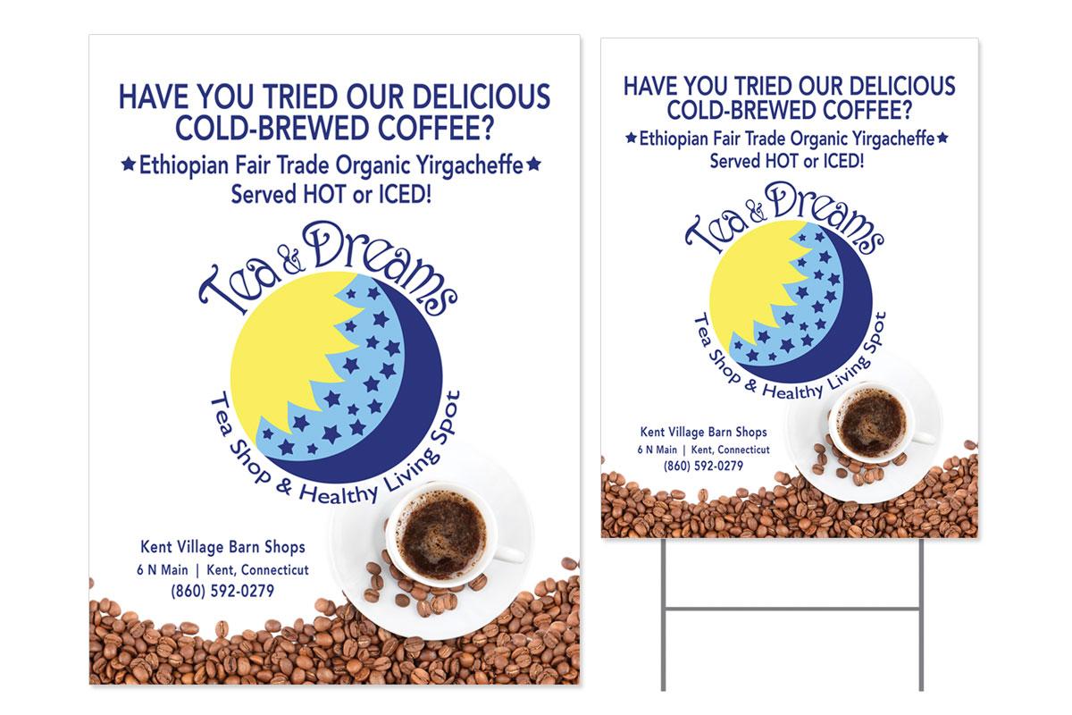 Tea And Dreams Flyer