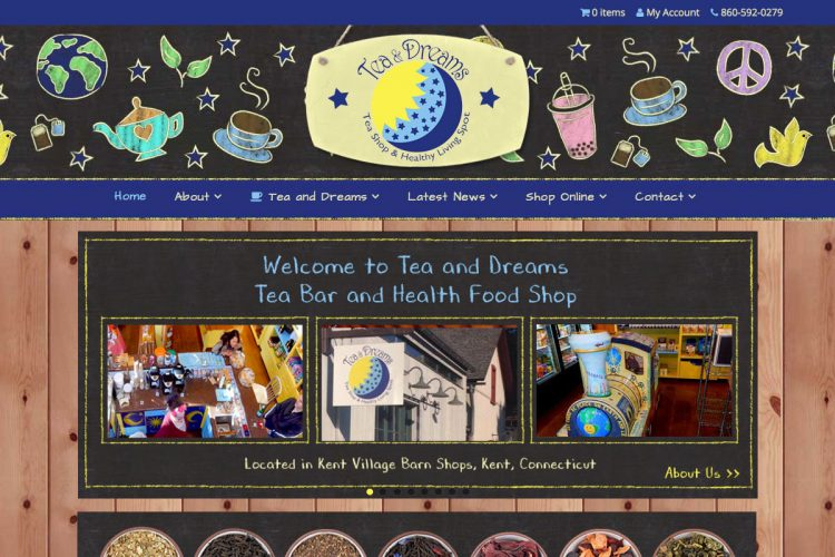 Tea and Dreams Homepage