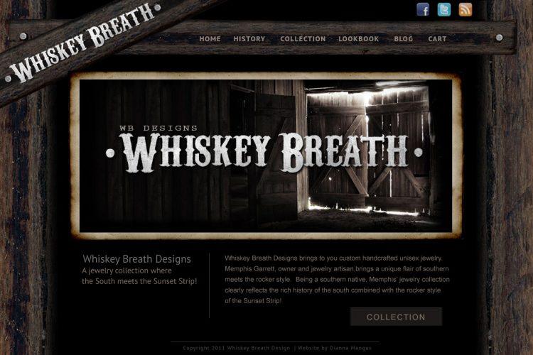 WhiskeyBreath Homepage