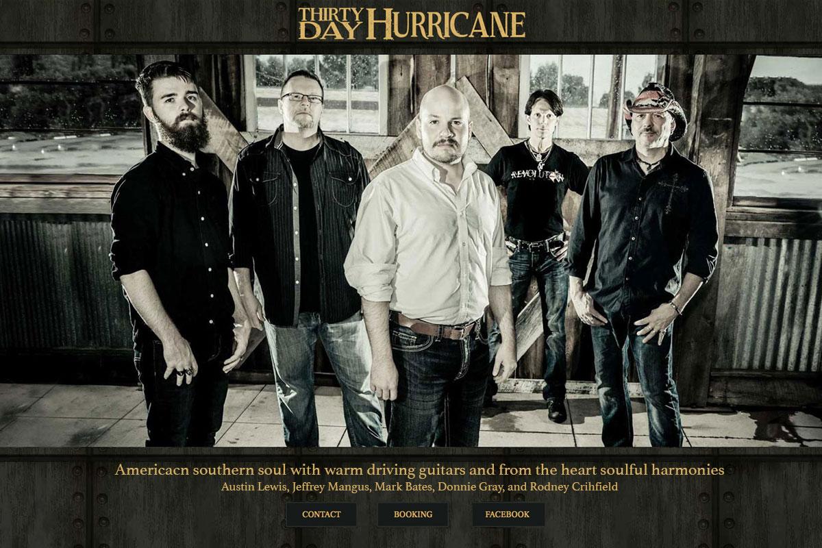 Thirty Day Hurricane Website