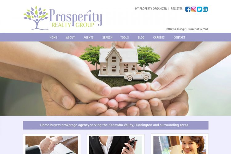 Prosperity Realty Group Homepage